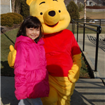 girl with winnie the pooh