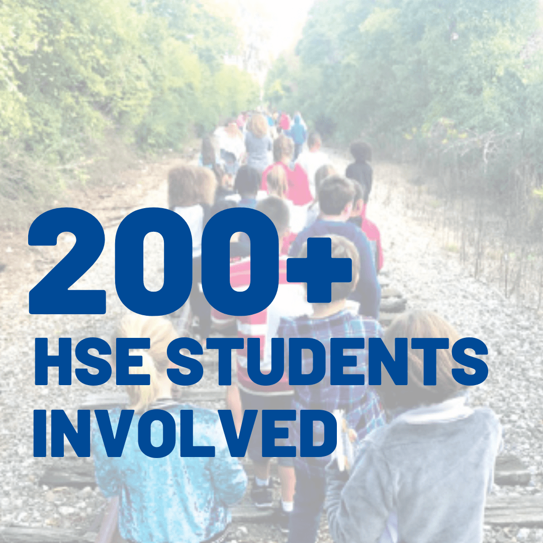 200+ hse students involved